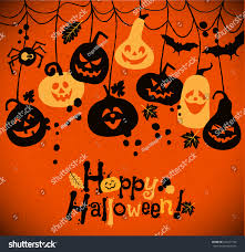 halloween background music royalty free download halloween background cheerful pumpkins stock vector 224741353
