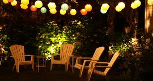 Backyard Party Lights by Backyard Design Ideas By Globe String Lights Outdoor Paper