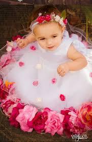 blossoms flower baby dress rose flower dress