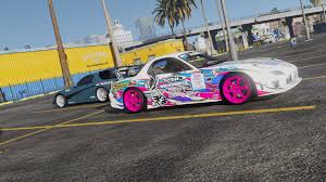 mazda rx7 drift mazda rx7 fd3s add on replace tuning livery template