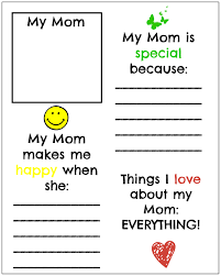 free mother u0027s day printables make it for mom