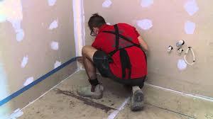 how to waterproof your bathroom floor diy at bunnings youtube