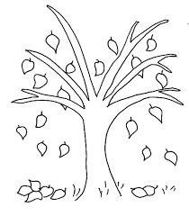 fall tree coloring pages murderthestout
