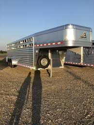 cattle trailer lighted sign livestock trailers stock trailers and truck beds for sale in ar at
