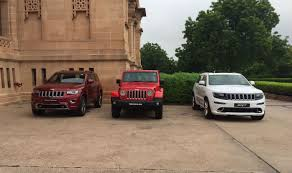 jeep grand cherokee price jeep grand cherokee and jeep wrangler launched in india at start