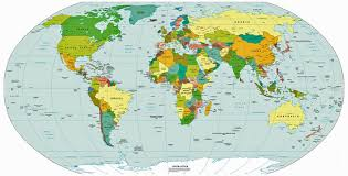 world map image with country names and capitals a to z country name with capital digital study center an