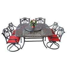 Heritage Patio Furniture B00fojqhek Heritage Outdoor Living Palm Tree Cast Aluminum Dining