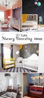 Decorating Ideas For Nursery 20 Nursery Decorating Ideas Hative