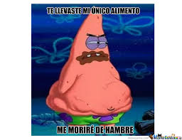 Patrick Meme Generator - spongebob meme patrick