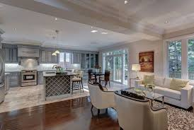 Open Kitchen Design With Living Room  Open Concept Kitchen - Living room and kitchen design