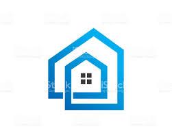 simple house symbol template design vector emblem design concept