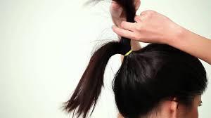 tutorial sirkam rambut panjang beauty video step by step cepol modern simpel youtube
