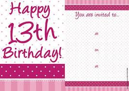 13 birthday invitation card u2013 orderecigsjuice info
