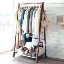 diy clothing storage clothes shelves bedroom bedroom clothes rack creative home floor
