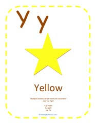 learning letter y sound can be consonant or vowel