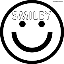 smiley face coloring pages coloring pages to download and print