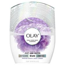 Sabun Olay olay duo soap dual sided cleanser soothing orchid black