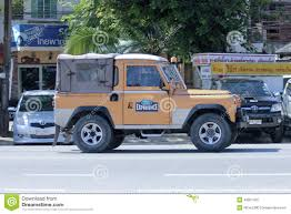 old land rover truck old private car land rover mini truck editorial photo image