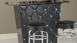 Black And Wood Chairs Bar Interior Magnificent Kitchen Layouts For Efficient With