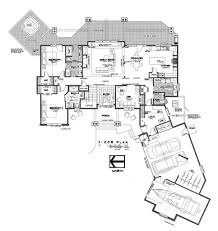 Contemporary Floor Plan by Modern Style Custom Luxury Home Floor Plans Luxury Custom Home