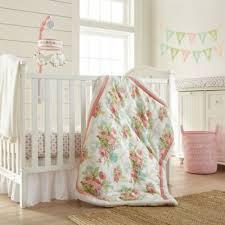 Crib Bedding Green Pink Baby Crib Bedding From Buy Buy Baby