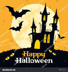 vector halloween halloween vector card vector art stock vector 112985017 shutterstock
