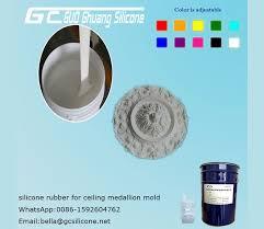 plaster ornamentation molding silicone 2 component silicon