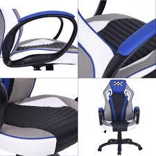 fauteuille de bureau gamer fauteuil de bureau gamer bleu fauteuil topkoo