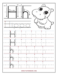 printable letter h tracing worksheets for preschool projects
