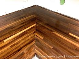 how to stain butcher block home decorating interior design how to stain butcher block part 39 fishermanu0027s wife furniture blogger