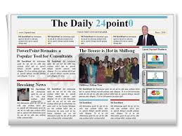 newspaper theme for ppt powerpoint templates newspaper newspaper template ppt madratco