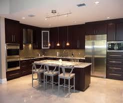 dark wood cabinets in kitchen kitchen modern dark wood kitchen cabinets ideas floor tile