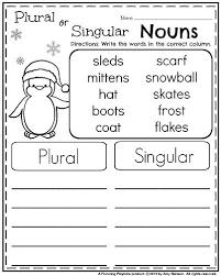 plural and singular nouns worksheet worksheets