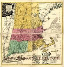 Map Of New England Colonies by Island Colony Map