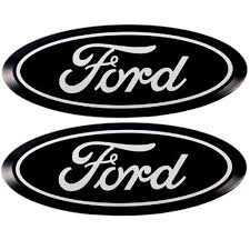 amc jeep emblem putco 92100 f 150 ford emblem black anodized billet aluminum pair