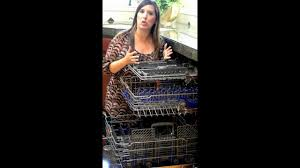 Stainless Steel Lg Dishwasher Lg Truesteam Dishwasher Review Youtube