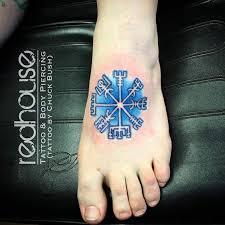 vegvísir tattoos compass tattoo and tattoo designs