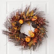 fall wreaths u0026 garland hayneedle