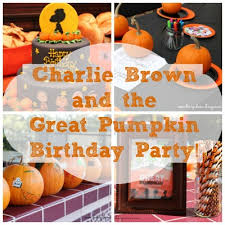 everett u0027s charlie brown and the great pumpkin party diary of a