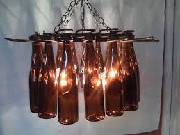 Wine Bottle Chandeliers Unique Chandeliers Made Of Wine Bottles Inhabit Zone
