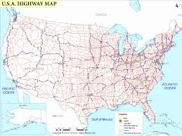 road trip map of usa road trip map of united states of america map southern east coast