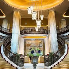 st regis luxury hotel abu dhabi uae u2013 grand lobby staircase travoh