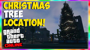 gta 5 online giant christmas tree location
