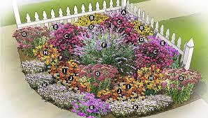 unique planning a flower garden layout backyard flower garden