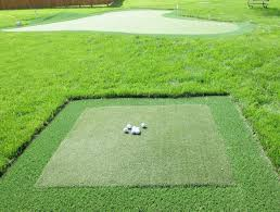 premium artificial grass backyard putting greens