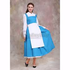 cosplaydiy beauty and the beast belle maid dress costume
