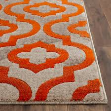 Capel Area Rug by Grey And Orange Rugs Roselawnlutheran