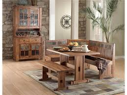 beautiful dining room sets with bench and chairs table set oak