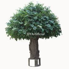 5x5m outdoor artificial banyan tree with galvanized fiberglass trunk