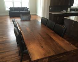 Walnut Dining Room by Live Edge Black Walnut Dining Table With Aluminum Inserts